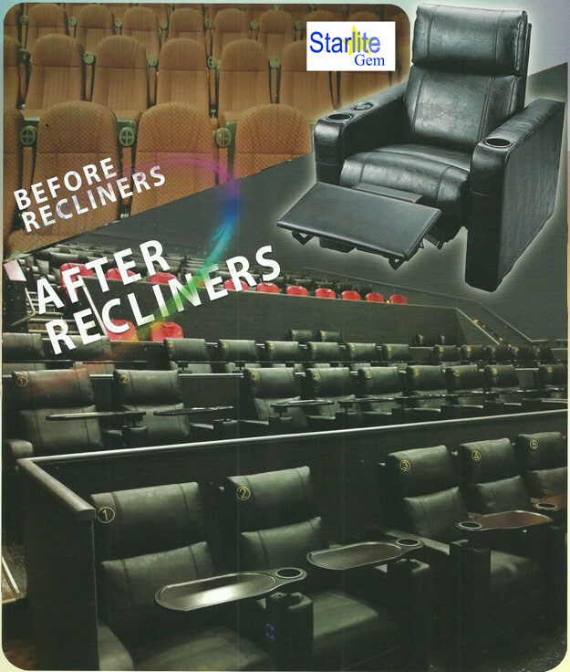 vip theater recliner seating