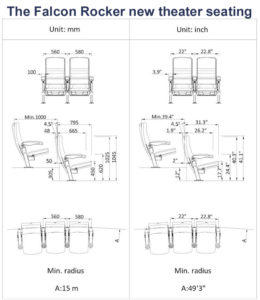 Falcon Rocker new theater seating specs 2