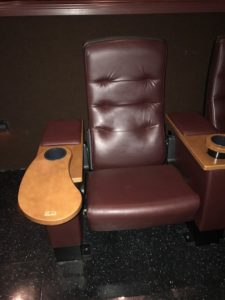 Used VIP theater seating