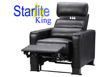 Starlite King VIP Recliner Electric recline AND Electric Headrest!