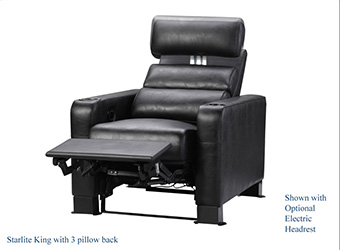 Starlite King recliner theater seating