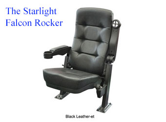 Starlite Falcon Standard New Theater Seating Rockers $100 each!