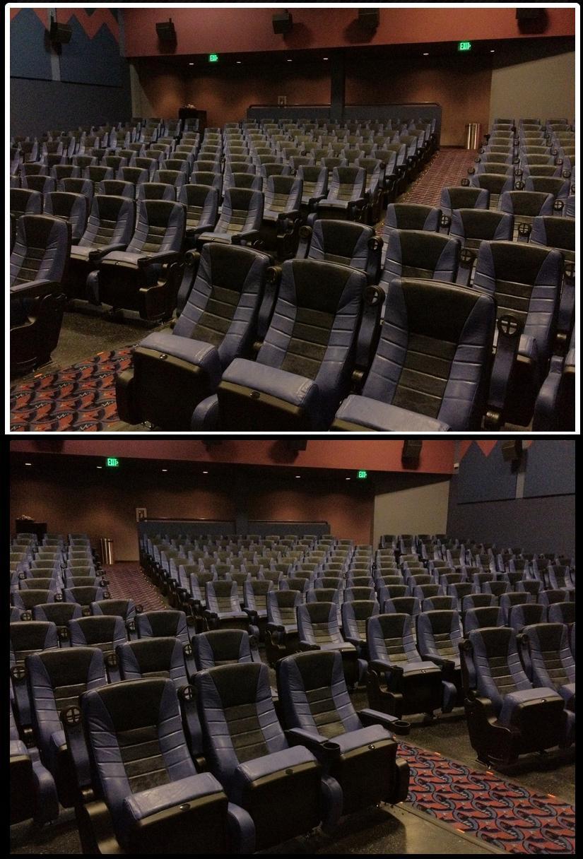 used theater seats Star Delight Rocker