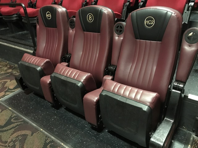 Hesperia used cinema seating