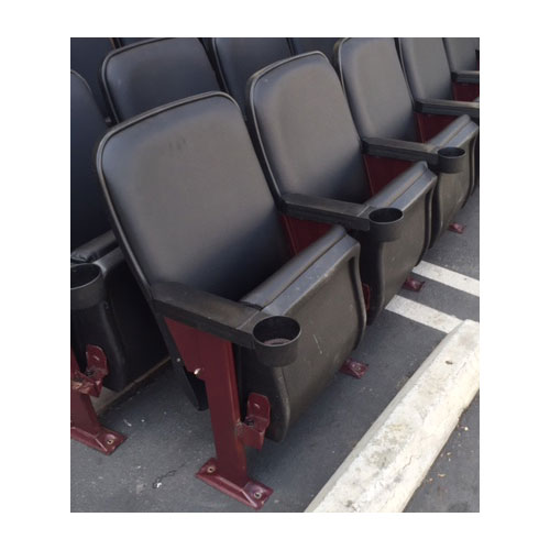 Used theater seating refurbished Marquee