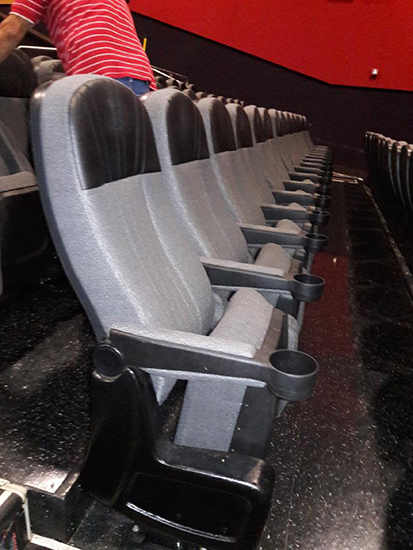 Salem used theater seating
