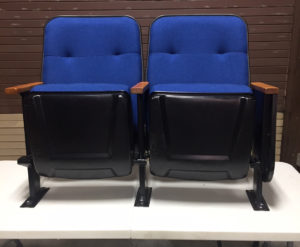 Blue MOCA used theater seating