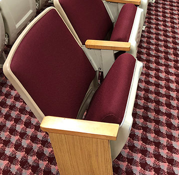 Sold Out … Scroll down to see other chairs…. 156 Used AUDITORIUM THEATER SEATING cinema movie chairs seats $14 each