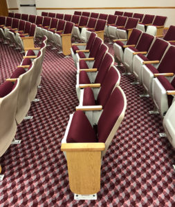 Used theater auditorium church seats