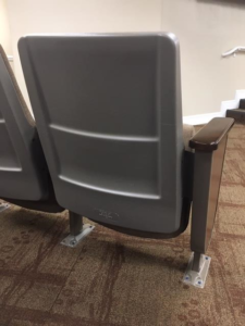 used church auditorium theater seating chairs