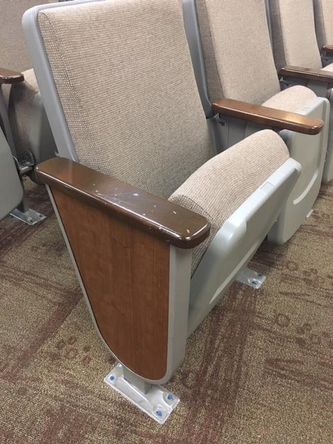 Used church seating