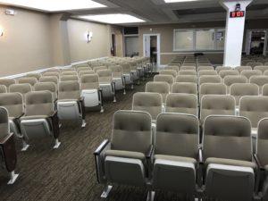 Used theater seating. Used church chairs. Tamarac lot 1