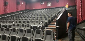 Used home theater seating. Real movie chairs.