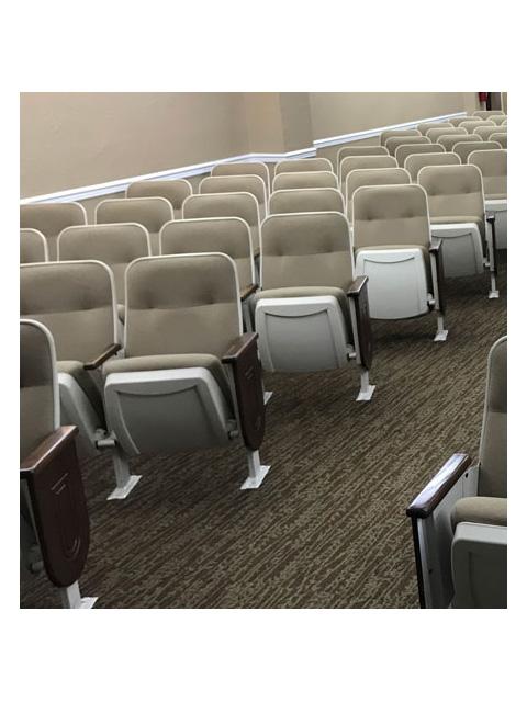 used theater seating used church chairs Tamarac lot 1