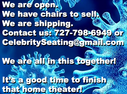 We are open Home Theater Seating
