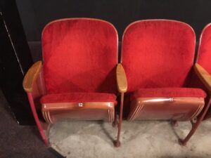 American Seating Bodiform used theater seats vintage